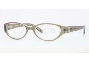 Anne Klein AK 8108 AK8108 Progressive Prescription Eyeglasses 269-5016 - Olive / Crystal Frame, Demo Lens Lenses