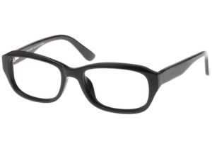 Black Forever Bk585 585 Bifocal Shiny Black Frames