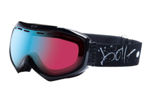 Bolle 20737 Quasar Goggles - Black Graffiti Mod Vermillion Blue