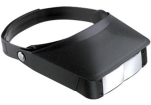 Carson MagniVisor 2x / 3x Dual Power Flip-Up Head Mounted Magnifier MV-23