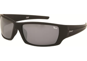 Coleman 6008 Single Vision Prescription Sunglasses - Matte Black And White Flash Frame CC1 6008-C2RX