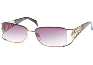 Diva 4147 Sunglasses - Black; Grey Gradient Lenses (829)