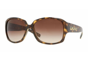 DKNY DY 4069 Sunglasses, Havana Frame / Brown Gradient Lenses, 329113 6016