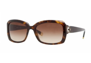 DKNY DY 4073 Sunglasses Styles - Dark Tortoise Brown Gradient Frame, 301613-5517