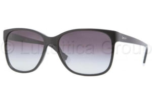 DKNY DY4085 Sunglasses 30018G-5816 - Black Frame, Gray Gradient Lenses