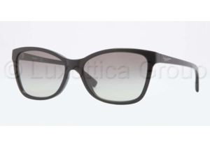 DKNY DY4105 Sunglasses 300111-5716 - Black Frame, Grey Gradient Lenses