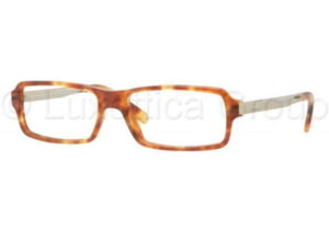DKNY DY4619 Progressive Prescription Eyeglasses 3346-5216 - Blonde Havana Frame