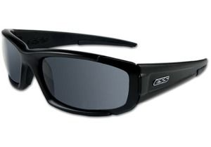 ESS High Adrenaline CDI Sunglasses, Black Frame, Clear/Smoke Lenses 740-0296