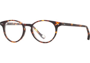 Hickey Freeman HF Cambridge SEHF CAMB00 Single Vision Prescription Eyeglasses - Tortoise SEHF CAMB004645 TO