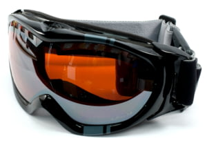 Julbo Superstar Goggles - Black Frame, Orange/Silver Flash Lens 70212140