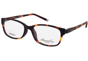 Kenneth Cole New York KC0193 Eyeglass Frames - Dark Havana Frame Color