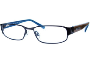 Kenneth Cole New York KC0716 Eyeglass Frames - Shiny Dark Brown Frame Color