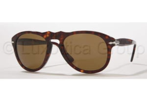 Persol PO0649 Sunglasses 24/57-5220 - Havana Crystal Brown Polarized