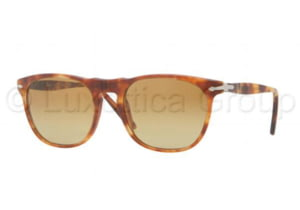 Persol PO2994S Sunglasses 956/85-5219 - Matte Havana Frame, Crystal Brown Gradient Lenses