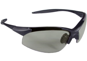 Radians Eternity Shooting Glasses, Black Frame, Ice Lenses - ET0190CS