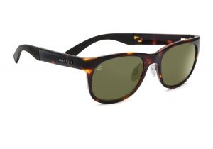 Serengeti Milano Sunglasses - Dark Tortoise Frame, 555nm Polarized Lenses 7661