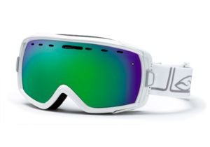 Smith Heiress Goggles, White Foundation, Green Sol X Mirror HR6NXFW10