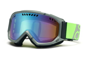 Smith Scope Graphic Goggles, Charcoal/Dayglo Team, Sensor Mirror SG3ZCT11