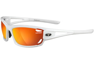 Tifosi Optics Dolomite 2.0 w/ EC, GT, Smoke/Red Glare Guard Lenses, Pearl White Frame 1020201116