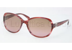 Tory Burch TY7033 TY7033 Sunglasses 101414-5816 - Pink Tortoise Brown Rose Fade