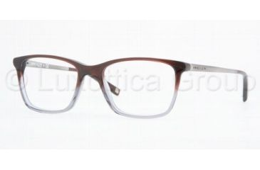 anne klein ak 8101 ak8101 eyeglass frames 253 4916 amber grey faded