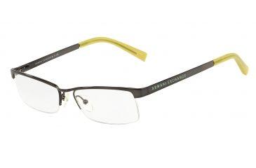 c75bf6faf8 Armani Exchange AX1005 Progressive Prescription Eyeglasses 6003-52 -  Gunmetal Frame