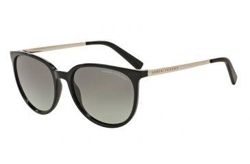 Armani Exchange AX4048SF Sunglasses 815811-56 - Black Frame, Grey Gradient  Lenses a534f30da1