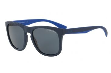 5b3354b2007 Armani Exchange AX4058S Single Vision Prescription Sunglasses  AX4058S-819887-55 - Lens Diameter 55