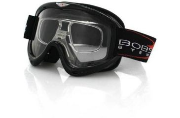 fd6ecd0ddacd9 Bobster MX3 Off-Road Goggles with RX Insert MX3-100BK . Bobster MX ...