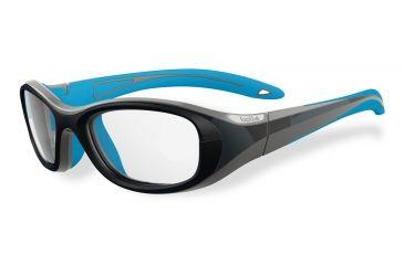 6ddcf5fc1a6c Bolle Kids Crunch Sport Protective Eyewear - Grey and Blue Frame,Clear Anti  Fog/
