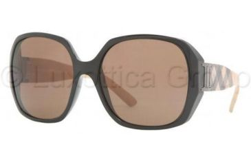 Burberry BE4086 Sunglasses 300173-5717 - Black Brown