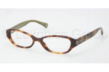 Coach DELANEY HC6015 Eyeglass Frames 5031-4816 - Tortoise