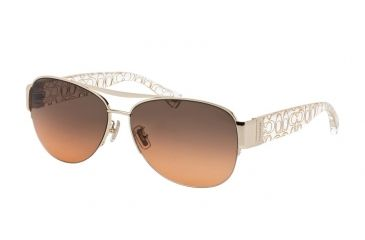934c996e1d51 Coach L079 ADDISON HC7042 Sunglasses 917895-60 - Gold/Crystal Gold Frame,  Grey