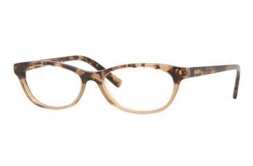 dkny dy4629 eyeglass frames 3557 5015 brown havana frame 50mm - Dkny Frames