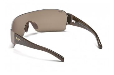 Maui Jim Honolulu Sunglasses w/ Metallic Gloss Copper Frame and HCL Bronze Lenses - H520-23, Back View