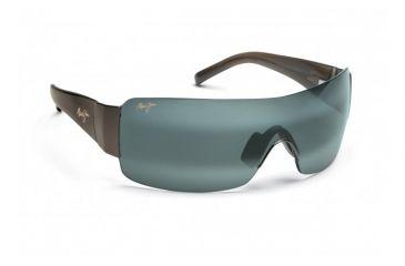 Maui Jim Honolulu Sunglasses w/ Gunmetal Frame and Neutral Grey Lenses - 520-02, Quarter View