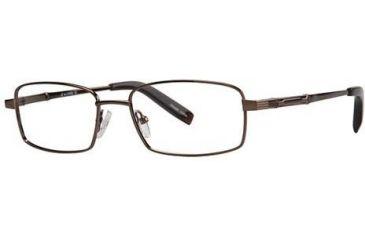 LAmy C by L'Amy 603 Single Vision Prescription Eyeglasses - Frame Brown, Size 53/17mm CYCBL60302