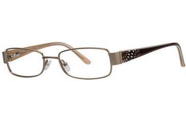 LAmy Desiree Bifocal Prescription Eyeglasses - Frame Matte Gold, Size 51/17mm LYDESIREE01