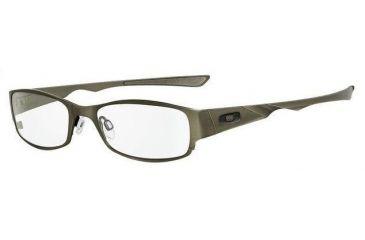 8ec5b8cb95 Oakley Dictate 4.0 Frame Olive Chrome Eyeglass Frames w  Blank Lenses 12-352