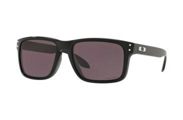 394755d19cd734 Oakley Holbrook Asia Fit OO9244 Sunglasses 924430-56 - Polished Black  Frame, Prizm Grey