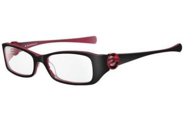 59a6f0bd0f Oakley Spontaneous 4.0 Black Red Cherry Eyeglass Frames w  Blank Lenses  22-088