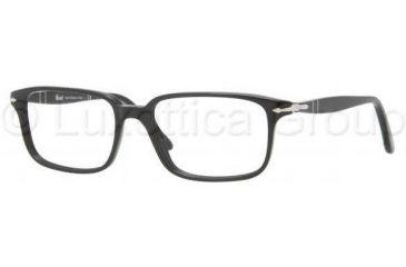 43e173a193 Persol PO3013V Progressive Prescription Eyeglasses 95-5117 - Black Frame
