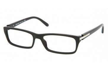 69d58bafa6ad Prada PR 05NV Eyeglasses Styles - Black Frame w Non-Rx 53 mm Diameter