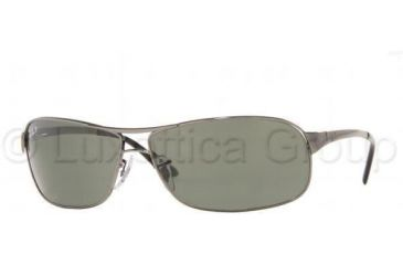 4305e03586ed0 Ray-Ban RB3343 Sunglasses with No-Line Progressive Rx Prescription Lenses  RB3343-004