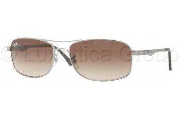 80c331831e Ray-Ban RB3484 Single Vision Prescription Sunglasses RB3484-004-51-6017 -