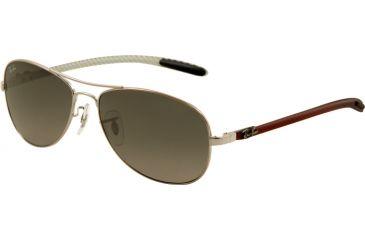 Ray-Ban Sunglasses RB8301 130/71-5914 - Shiny Gunmetal Frame, Gray Gradient Lenses