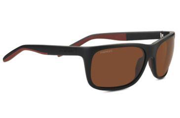 c9f3d1d37046 Serengeti Ettore Progressive Prescription Sunglasses, Sanded Black / Brown  Frame, Polarized, Photochromic,