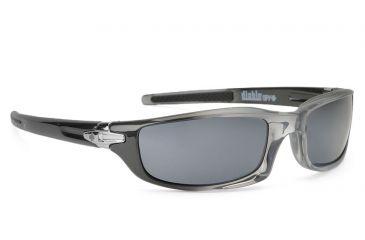 Spy Optic Diablo Single Vision Prescription Sunglasses - Smoke Gun Fade/Grey Frame 570980567000RX