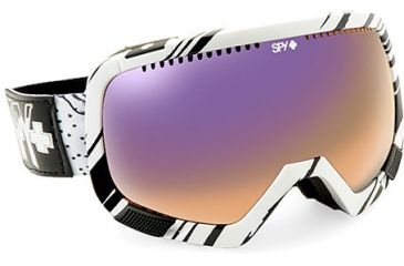 Spy Optic Platoon Ski Goggles W 2 Intechangeable Lenses
