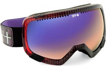 Spy Optic Platoon Ski Goggles W 2 Intechangeable Lenses